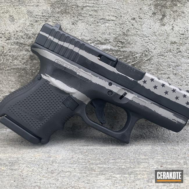 Cerakoted: S.H.O.T,Graphite Black H-146,SAVAGE® STAINLESS H-150,Glock 27,.40