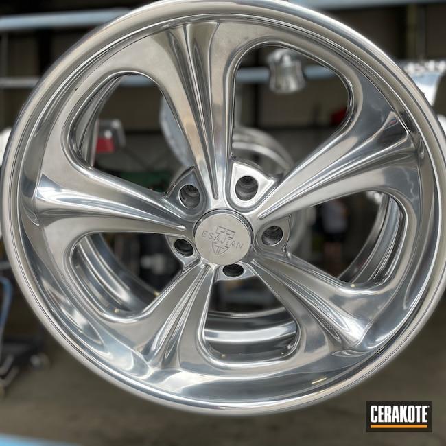 Cerakoted: Aluminum Wheels,Polished Aluminum,HIGH GLOSS CERAMIC CLEAR MC-160,Valve Covers,Automotive