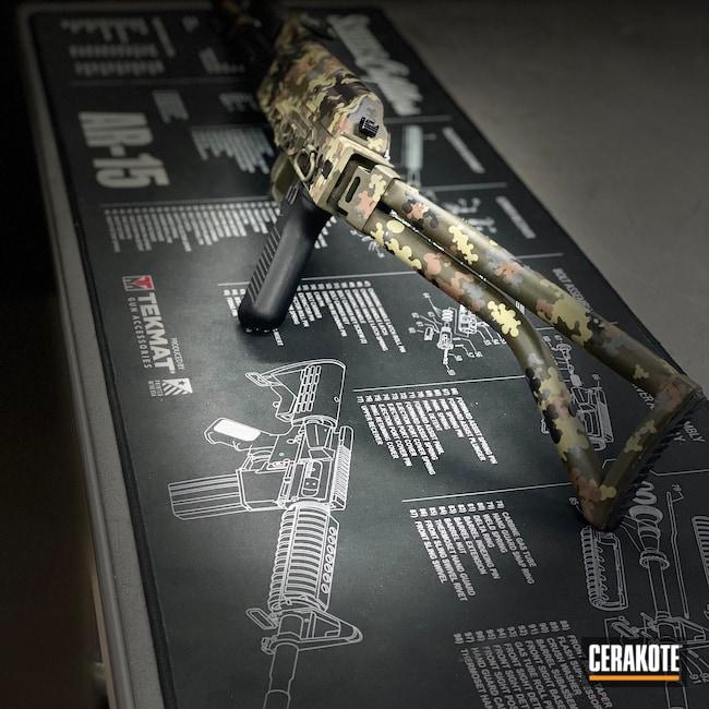 Cerakoted: S.H.O.T,Sniper Grey H-234,Graphite Black H-146,7.62x39,MULTICAM® PALE GREEN H-339,Arsenal