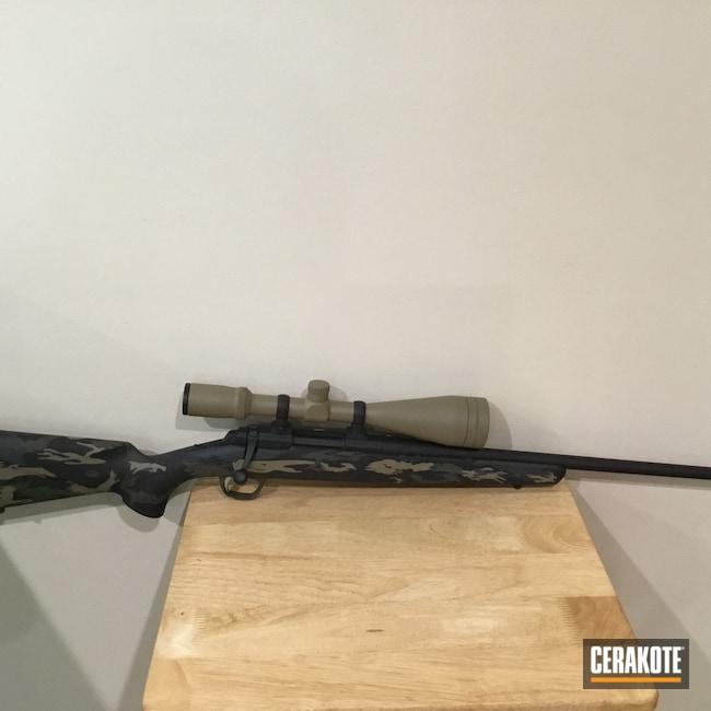 Cerakoted: S.H.O.T,Sniper Grey H-234,Coyote Tan H-235,Armor Black H-190,O.D. Green H-236,Browning X-Bolt,A-bolt