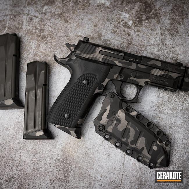 Cerakoted: S.H.O.T,Sniper Grey H-234,Titanium H-170,Armor Black H-190