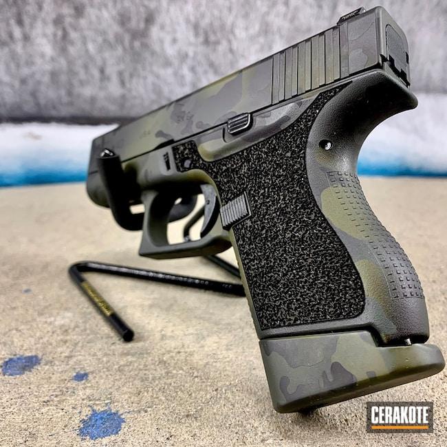 Cerakoted: S.H.O.T,Sniper Green H-229,Graphite Black H-146,Pistol,Glock,MultiCam Black,EDC,SIG™ DARK GREY C-209,Glock 43