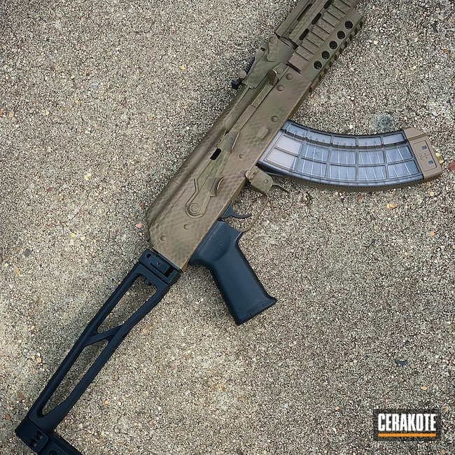 Cerakoted: S.H.O.T,MAGPUL® FLAT DARK EARTH H-267,Nano,AK-47,7.62x39