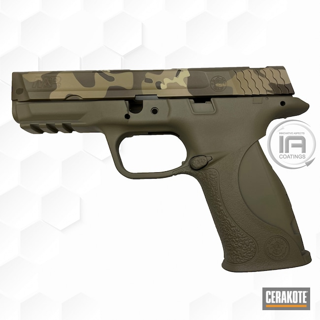 Cerakoted: S.H.O.T,Coyote Tan H-235,MAGPUL® FLAT DARK EARTH H-267,Desert Sand H-199,Smith & Wesson,Patriot Brown H-226,Pistol,BENELLI® SAND H-143,Firearms,Chocolate Brown H-258