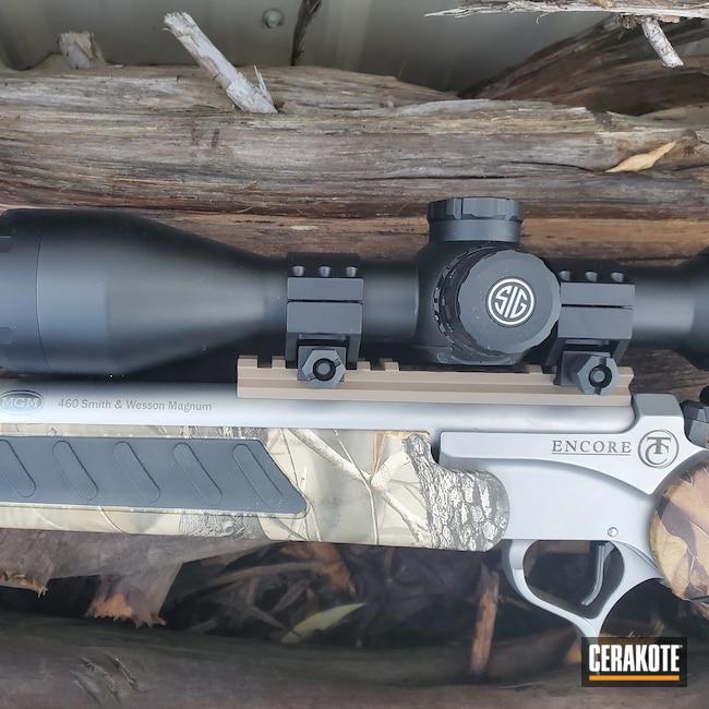 Cerakoted: S.H.O.T,Rifle,Rifles,smith & Wesson 460,Thompson Center,Flat Dark Earth H-265,Encore