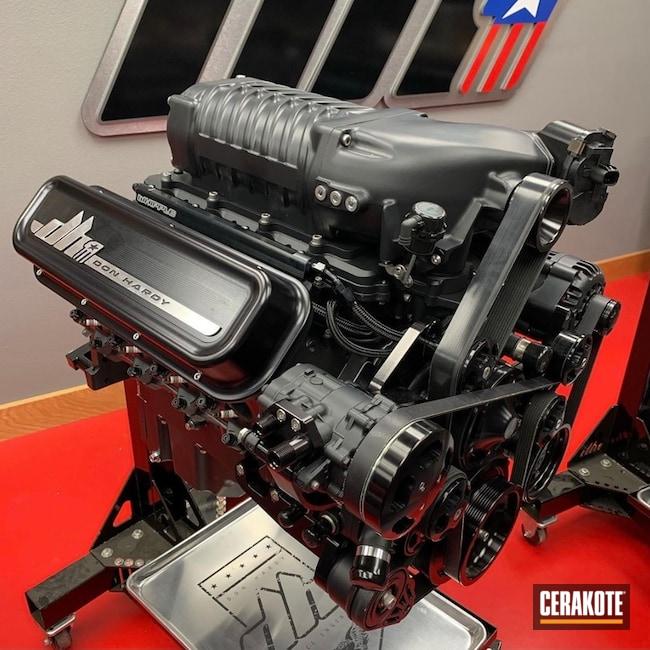Donald Hardy Engine Build Cerakoted Using Tungsten