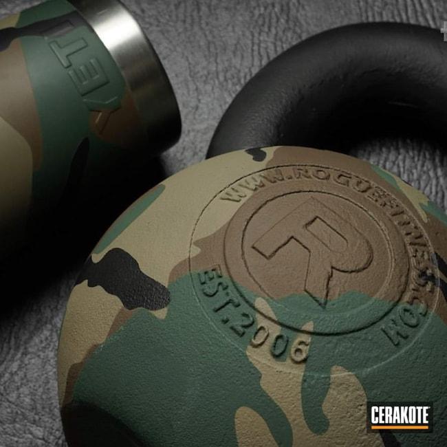 Cerakoted: Sporting Equipment,Highland Green H-200,BLACKOUT E-100,Fitness,YETI,MCMILLAN® TAN H-203,rogue,Chocolate Brown H-258
