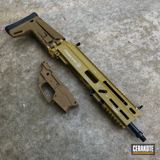 Cerakoted: S.H.O.T,9mm,SCAR,Ral 8000 H-8000,Stribog