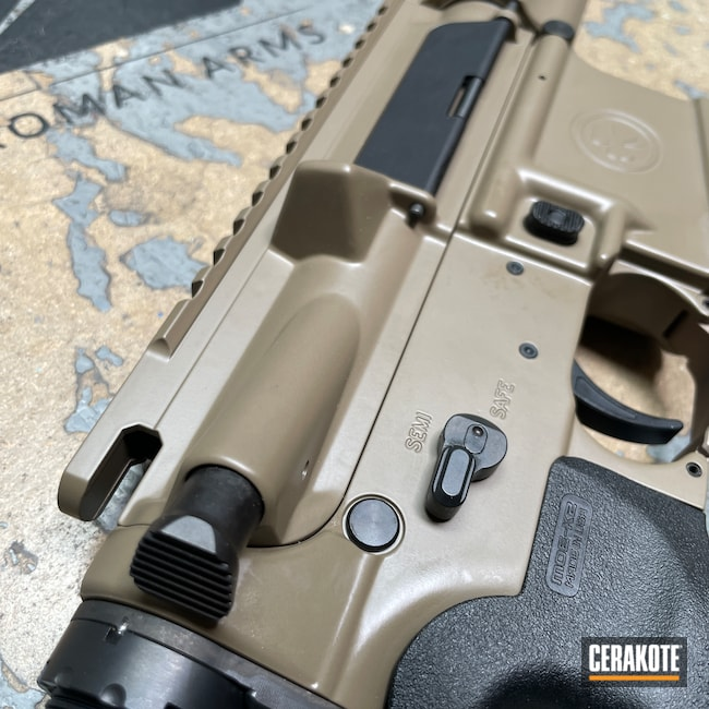 Cerakoted: S.H.O.T,Rifle,Hodge Defense,FDE E-200,Hodge Deffense Systems,AR-15