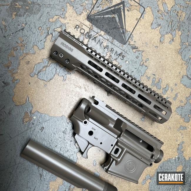 Cerakoted: S.H.O.T,Rifle,Hodge Defense,Jungle E-140,BLACKOUT E-100,Upper / Lower / Handguard,Upper / Lower,HDSI,Hodge Deffense Systems,Earth E-130,T40,Buffer Tube,AR-15