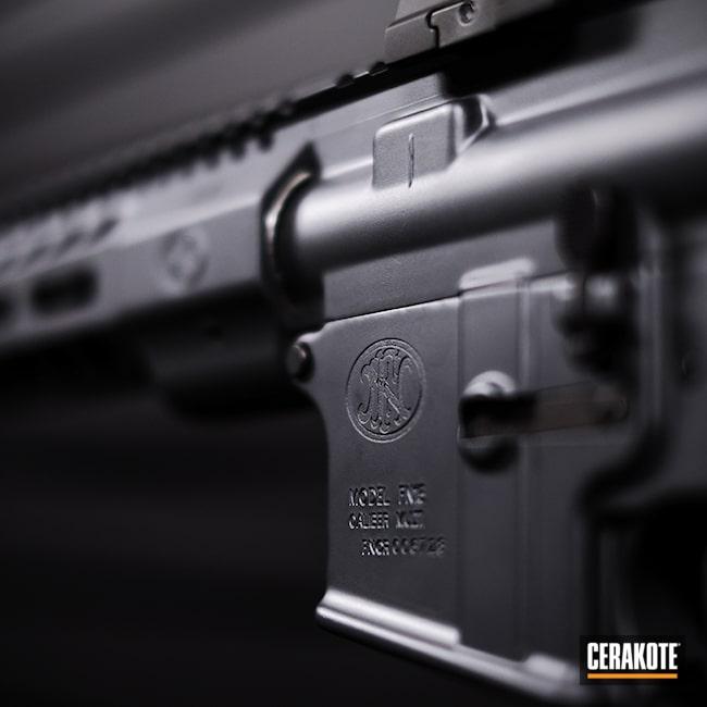 Cerakoted: S.H.O.T,Rifle,Sniper Grey H-234,AR,FN America,Guns,Sniper Grey,AR Parts,FN,AR Build,AR-15