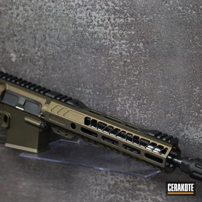 Cerakoted: S.H.O.T,AR Pistol,Graphite Black H-146,AR,.223,Midnight Bronze H-294,.223 Wylde,5.56,Fostech
