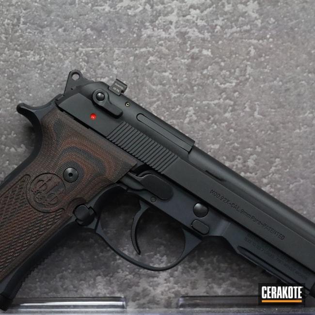 Cerakoted: S.H.O.T,9mm,Beretta 92x,Graphite Black H-146,Pistol,Beretta,Handgun