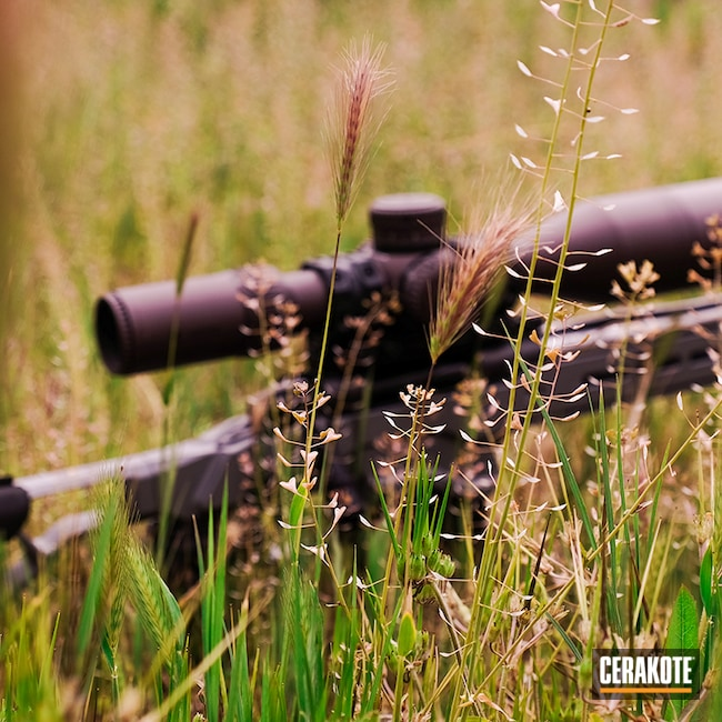 Cerakoted: S.H.O.T,Bolt Action Rifle,Vortex,6.5 Creedmoor,Bolt Gun,Bolt Action,Bolt,Sig,Elite,SIG™ DARK GREY C-209