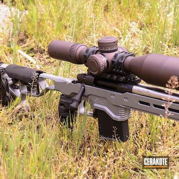 Bolt Action Rifle Cerakoted Using Sig™ Dark Grey