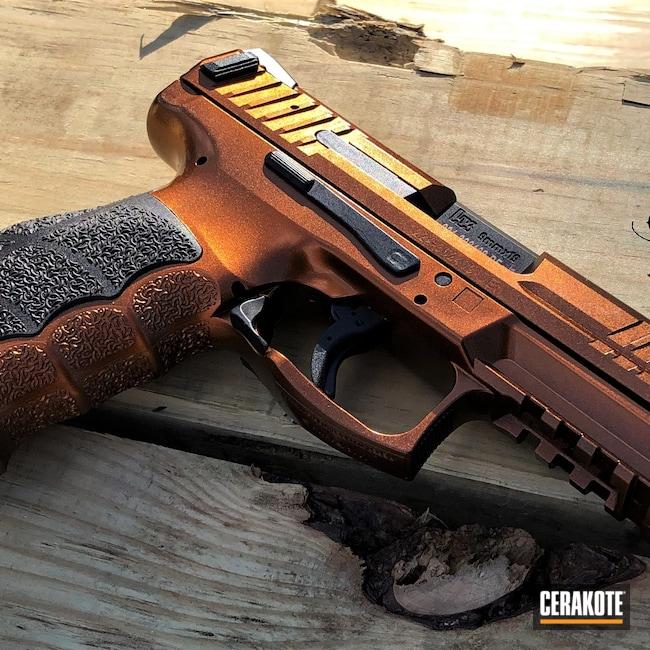 Cerakoted: S.H.O.T,9mm,Custom Mix,VP9,Gloss Black H-109,HIGH GLOSS CERAMIC CLEAR MC-160,GunCandy,H&K
