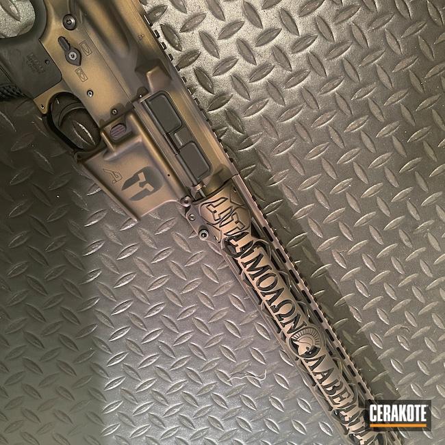 Cerakoted: S.H.O.T,Aero Precision,Battleworn,Burnt Bronze H-148,X15