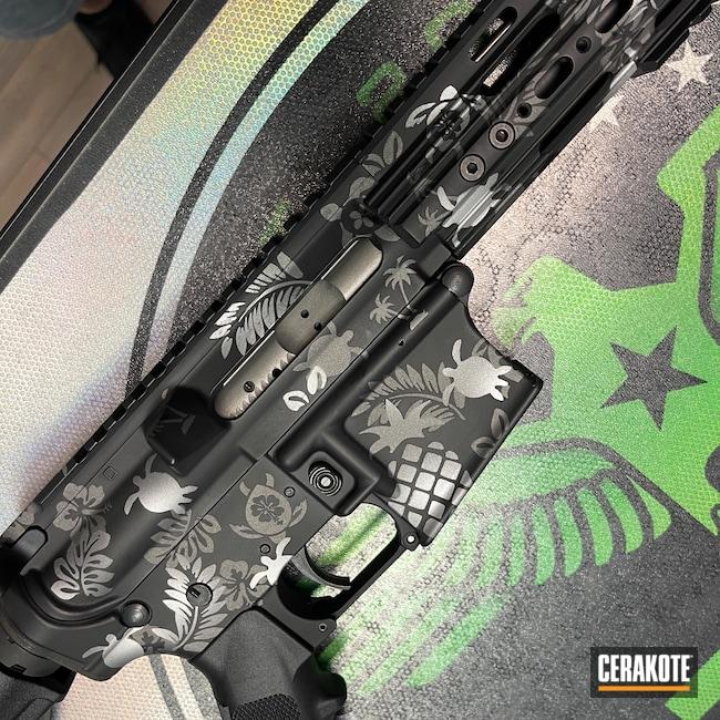 Cerakoted: S.H.O.T,Rifle,Hawaiian,Gen II Graphite Black HIR-146,Camo