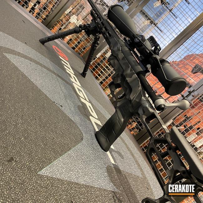 Cerakoted: S.H.O.T,Sniper Grey H-234,MDT,Savage Arms,Graphite Black H-146,SAVAGE® STAINLESS H-150,Sniper Grey C-239