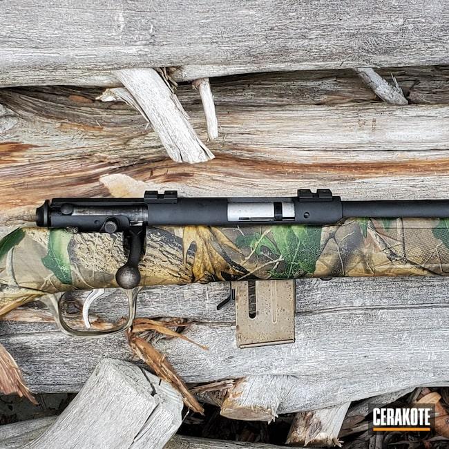 Cerakoted: S.H.O.T,Rifle,Savage Arms,Graphite Black H-146,Savage,17 HMR,A17