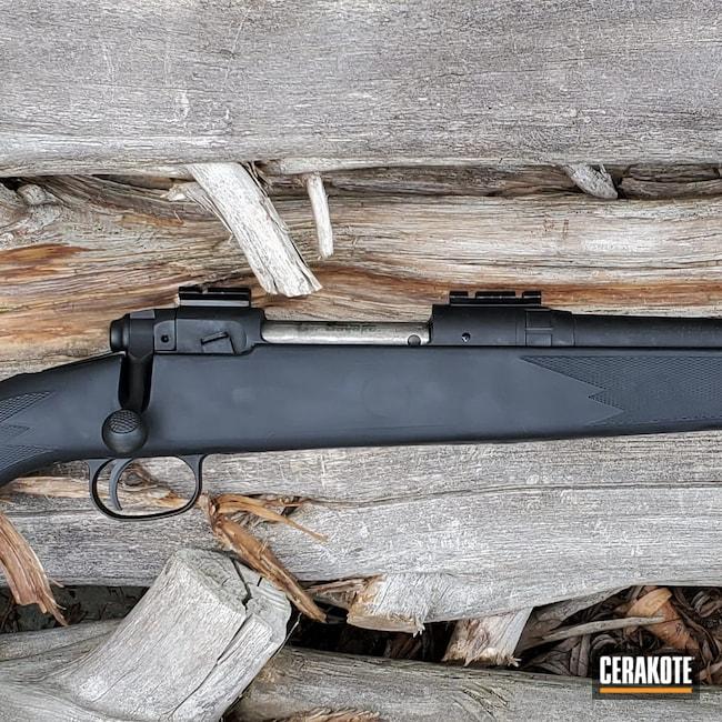 Cerakoted: S.H.O.T,Rifle,Savage Arms,Model 110,Graphite Black H-146,.243,Savage
