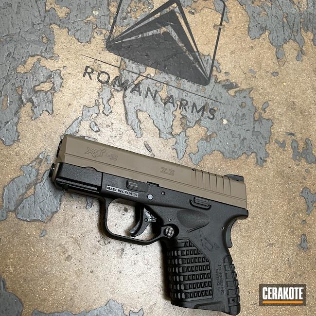 Cerakoted: S.H.O.T,MAGPUL® FLAT DARK EARTH H-267,Springfield XDS-9,Pistol,Springfield Armory,Handguns