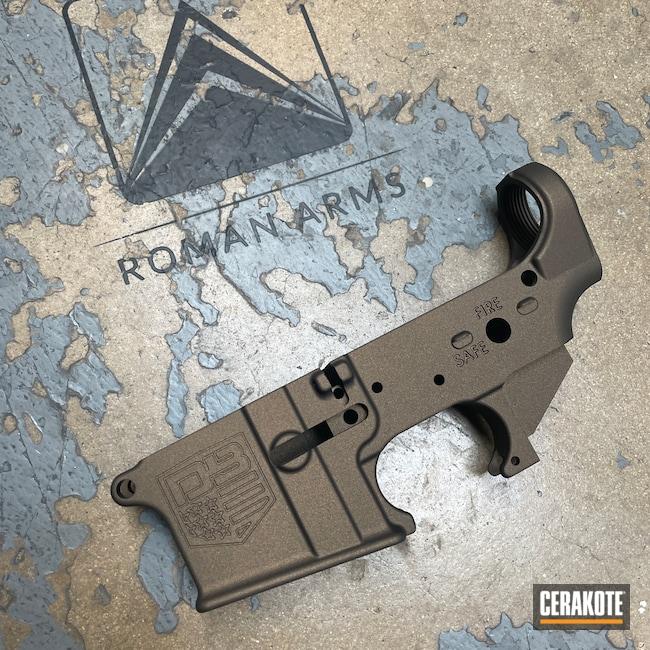 Cerakoted: S.H.O.T,Diamondback Firearms,Lower,Diamondback,Midnight Bronze H-294,AR-15,AR15 Lower