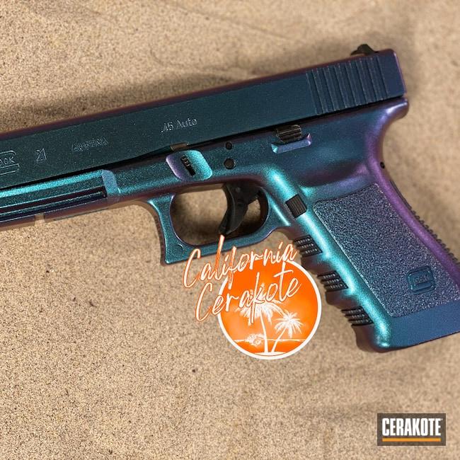 Cerakoted: S.H.O.T,Glock 17,Christopher Miller,HIGH GLOSS CERAMIC CLEAR MC-156,california cerakote