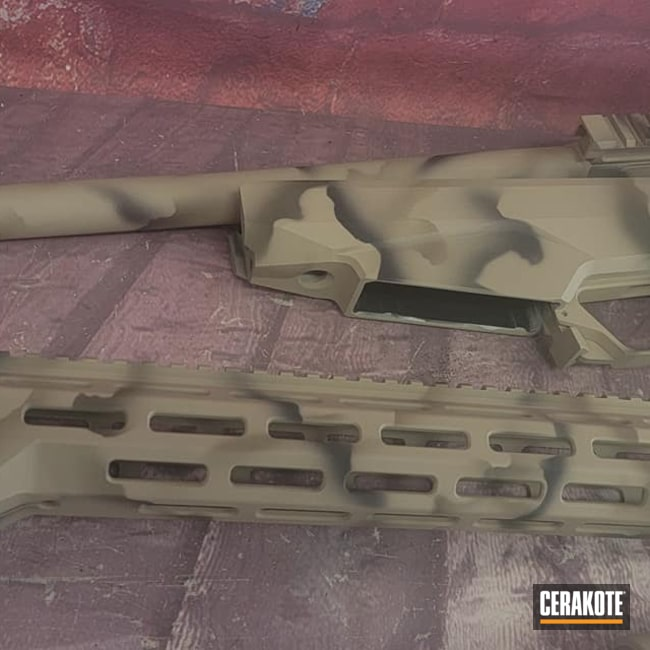 Cerakoted: S.H.O.T,Rifle,MAGPUL® FLAT DARK EARTH H-267,Sniper Rifle,Desert Sand H-199,Armor Black H-190,O.D. Green H-236,Camouflage,Tikka,Custom Camo,Tikka T3x