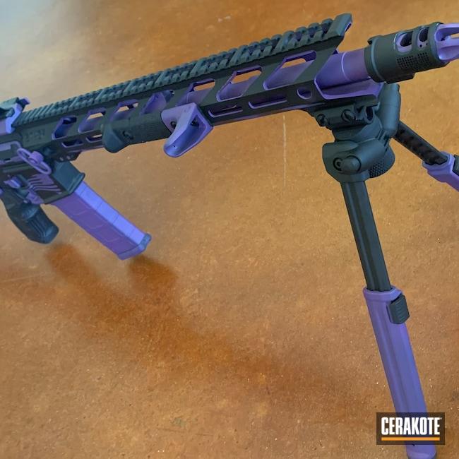 Cerakoted: S.H.O.T,Custom,Armor Black C-192,Bright Purple H-217,AR Project,Armor Black H-190,Shadeaux,5.56
