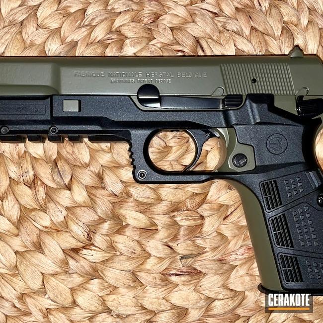 Cerakoted: S.H.O.T,Recover Tactical,Hi-Power,BLACKOUT E-100,Pistol,Gun Parts,MOSS E-210,Surefire Flashlight,X300U-A
