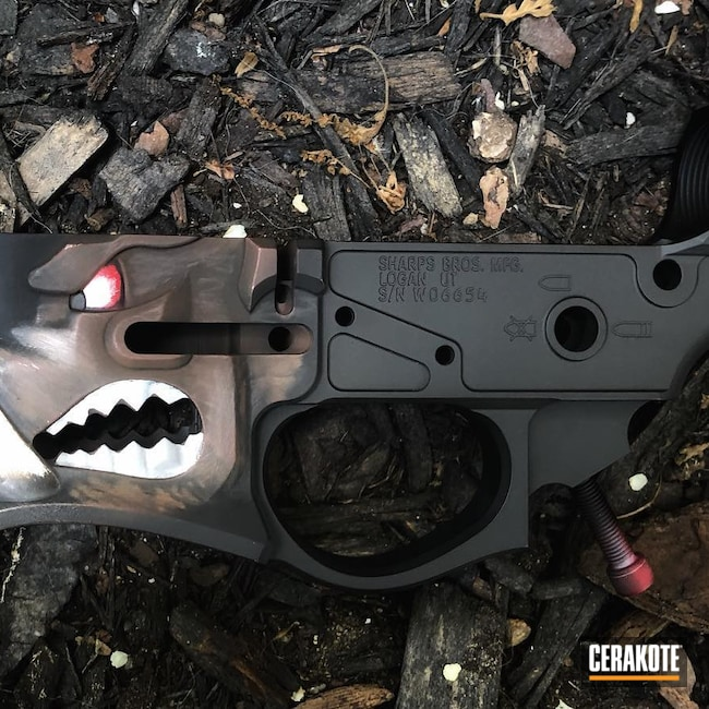 Cerakoted: S.H.O.T,Bright White H-140,Multi cal,RUBY RED H-306,Sharps Brothers,MULTICAM® DARK BROWN H-342,MrPig,Spike's Tactical Warthog,Warthog