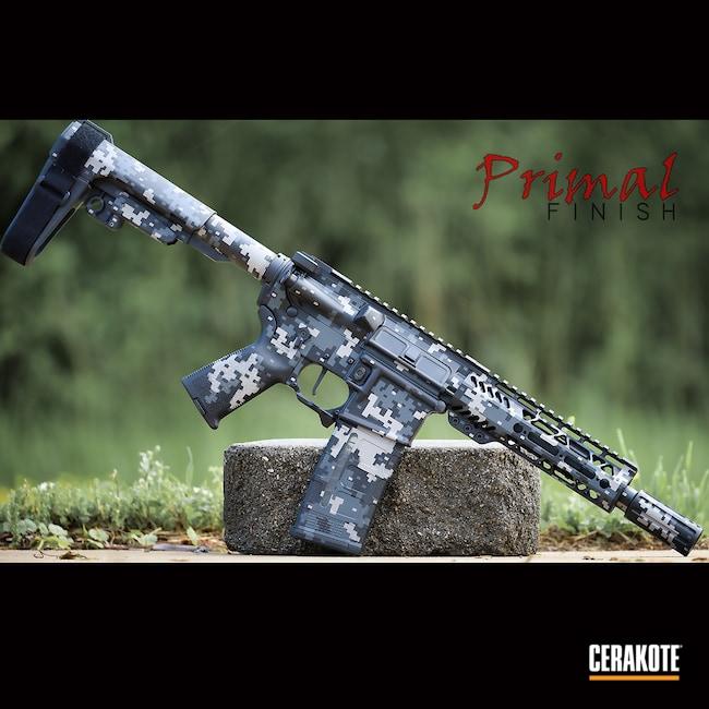 Cerakoted: S.H.O.T,Palmetto State Armory,Sniper Grey H-234,AR Pistol,Steel Grey H-139,Graphite Black H-146,.223,.300 Blackout,AR Build