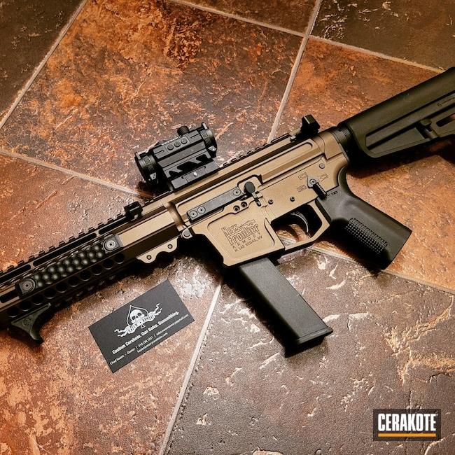 Cerakoted: S.H.O.T,9mm,Graphite Black H-146,PC-9,Midnight Bronze H-294,PCC