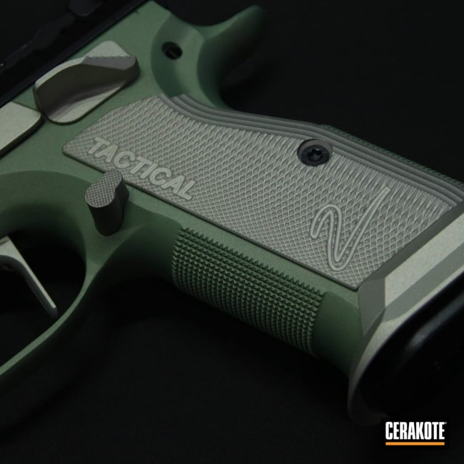Cerakoted: S.H.O.T,9mm,Shimmer Aluminum H-158,Standard,Graphite Black H-146,Golf Club Driver,CZ,Blue Titanium H-185,Lemon Zest H-354