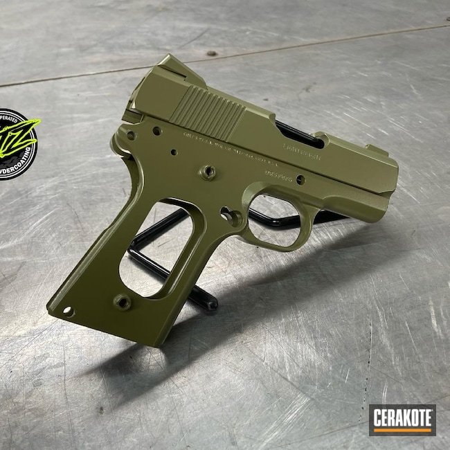 Cerakoted: S.H.O.T,Colt Defender,Noveske Bazooka Green H-189