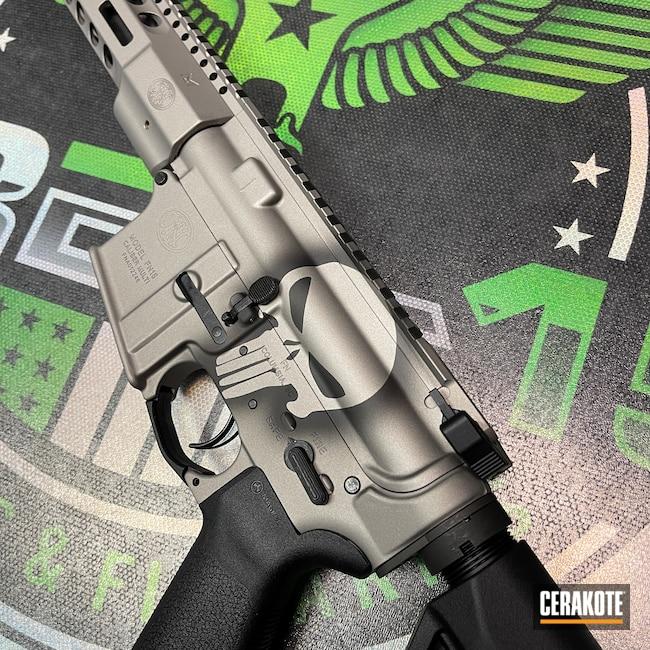 Cerakoted: S.H.O.T,Punisher,Graphite Black H-146,FN,AR-15