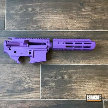 Ar Builders Set Cerakoted Using Lollypop Purple