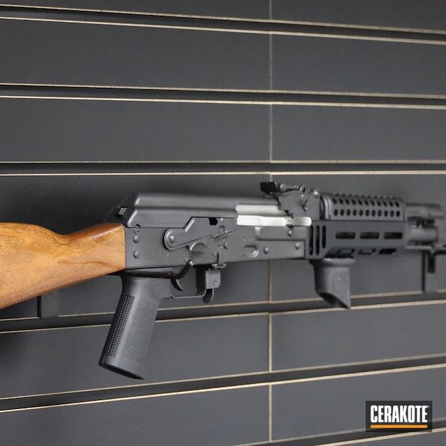 Cerakoted: S.H.O.T,Rifle,Graphite Black H-146,7.62x39,Zastava Arms,AK