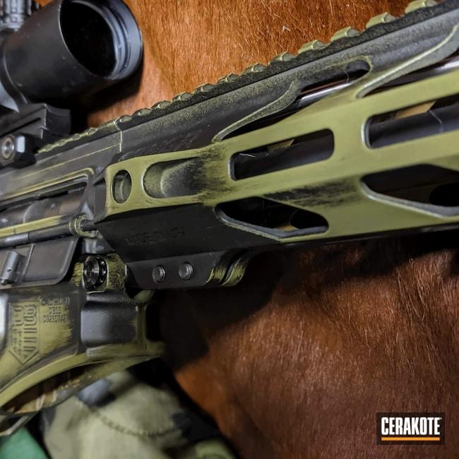 Cerakoted: Noveske Tiger Eye Brown H-187,S.H.O.T,Armor Black H-190,Noveske Bazooka Green H-189,.223 Wylde,5.56