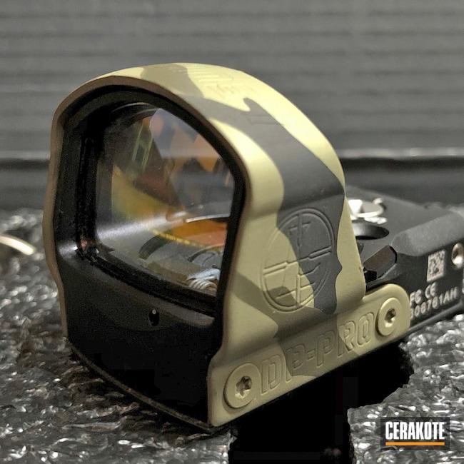 Cerakoted: S.H.O.T,HAZEL GREEN H-204,Armor Black H-190,O.D. Green H-236