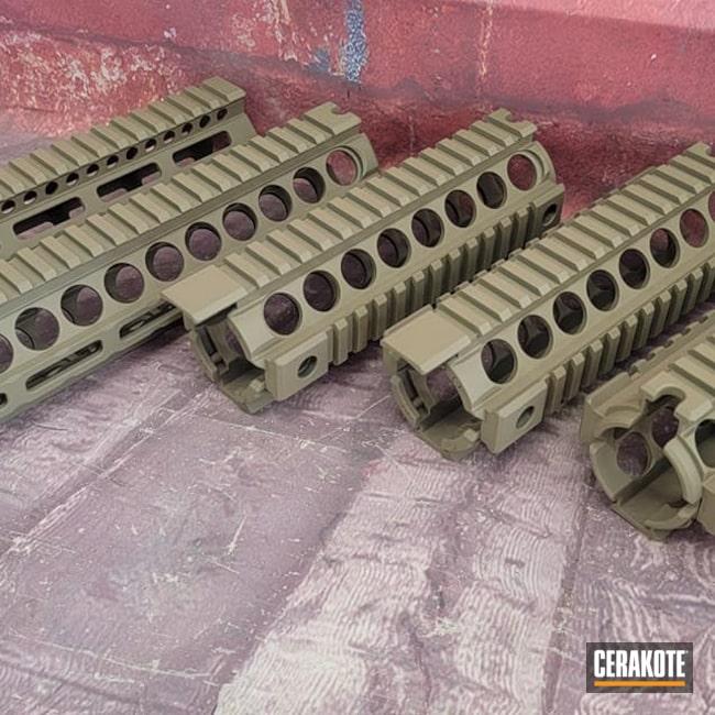 Cerakoted: S.H.O.T,Handguard,Handguards,Gun Parts,Ar Rail,Flat Dark Earth H-265