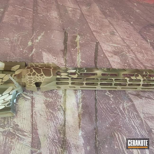 Cerakoted: S.H.O.T,Kryptek,Tactical,Desert Sand H-199,AR Project,BARRETT® BROWN H-269,FROST H-312,Live Free,Tactical Rifle,COBALT KINETICS™ GREEN H-296,AR Build,AR-15
