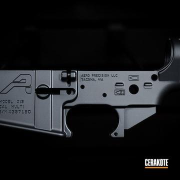 Ar Lower Cerakoted Using Sniper Grey