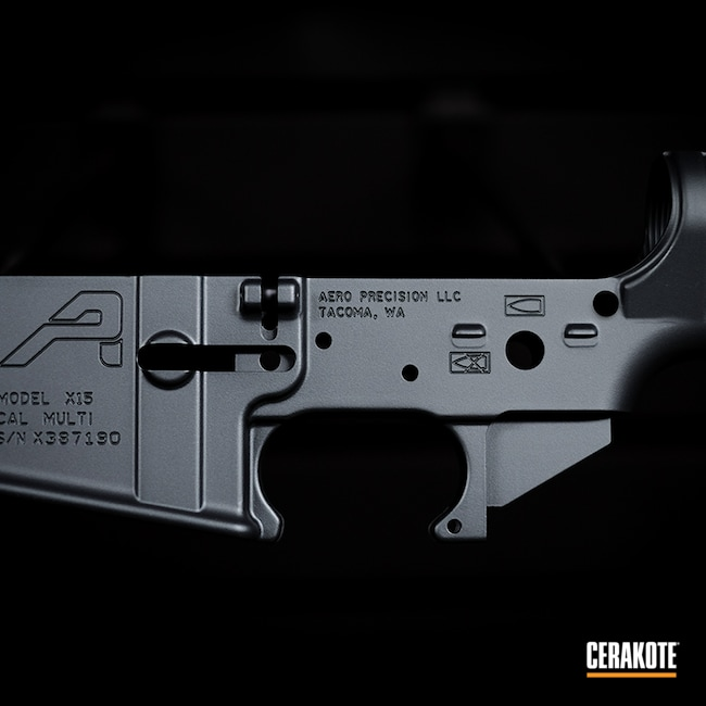 Cerakoted: S.H.O.T,Sniper Grey H-234,Custom Rifle,AR,AR Project,Custom Rifle Build,Sniper Grey,AR Rifle,AR Parts,AR Build,AR15 Lower,AR-15