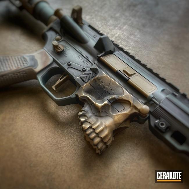 Cerakoted: S.H.O.T,9mm,AR Pistol,Desert Sand H-199,Armor Black H-190,Sharpbros,Jack 9,CHARCOAL GREEN H-338,GLOCK® FDE H-261