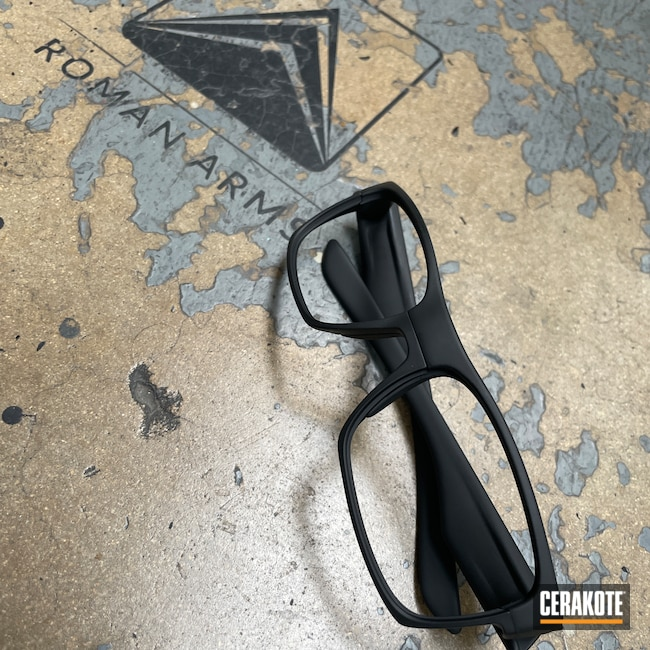 Cerakoted: Sunglasses,Oakley,Graphite Black H-146,Glasses