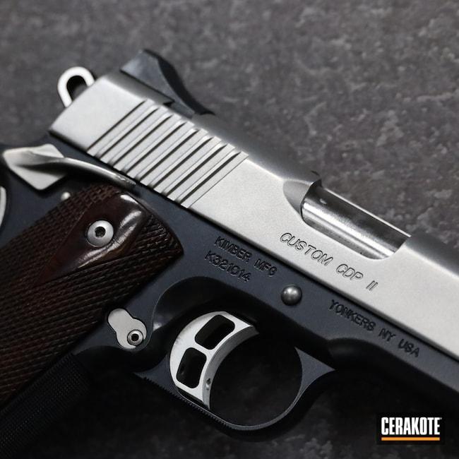 Cerakoted: S.H.O.T,.45,BLACKOUT E-100,Kimber,Pistol,1911,Kimber Ultra CDP II,Handgun