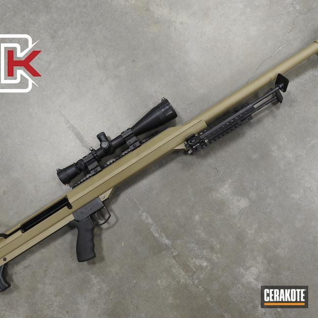 Cerakoted: S.H.O.T,.50 cal,Barrett,MAGPUL® FLAT DARK EARTH H-267