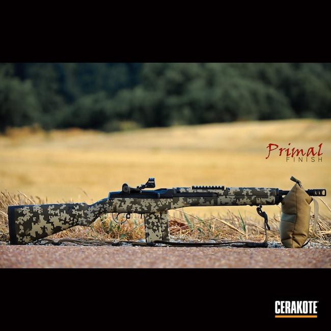 Cerakoted: S.H.O.T,Desert Sage H-247,MAGPUL® FLAT DARK EARTH H-267,m14,Digital Camo,M1A,Graphite Black H-146,Battle Rifle,Springfield Armory,MAGPUL® O.D. GREEN H-232,.308